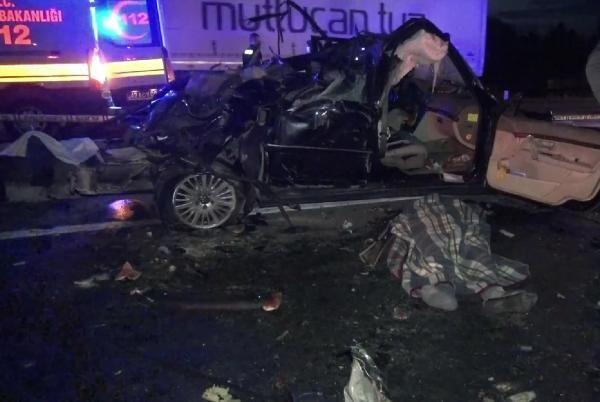 Konya'da TIR ile otomobil çarpıştı: 2 ölü - Sayfa 2