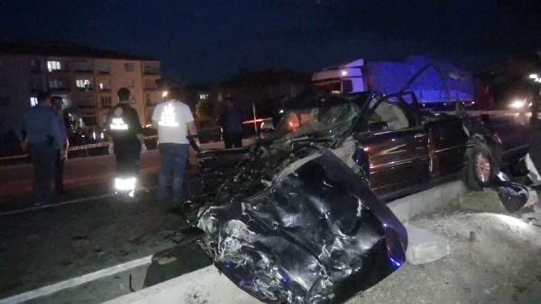 Konya'da TIR ile otomobil çarpıştı: 2 ölü - Sayfa 3
