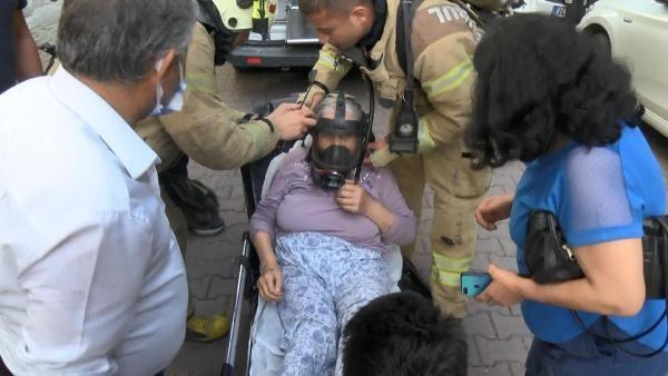 Avcılar'da 5 katlı binada yangın paniği; mahsur kalan yatalak kadını itfaiye kurtardı - Sayfa 4