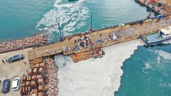 Yalova kıyılarında müsilaj temizliği başladı - Sayfa 4
