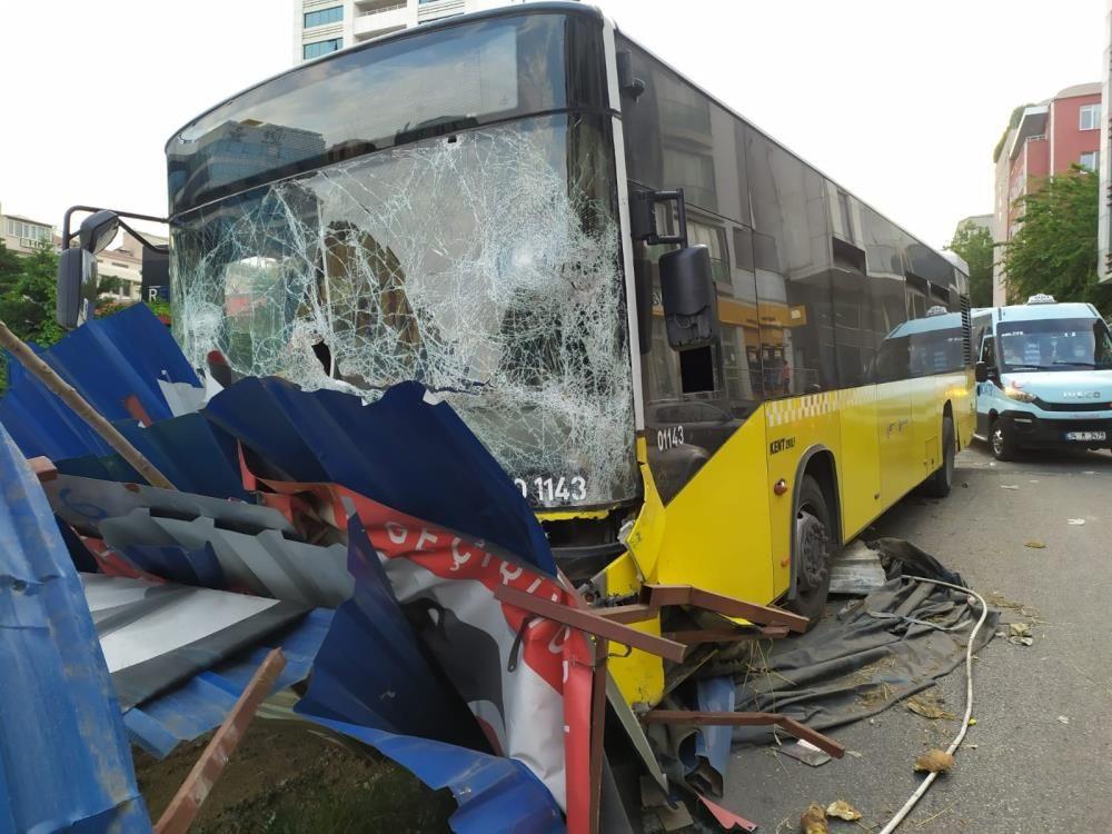 İETT otobüsü metro inşaatına çarptı - Sayfa 4