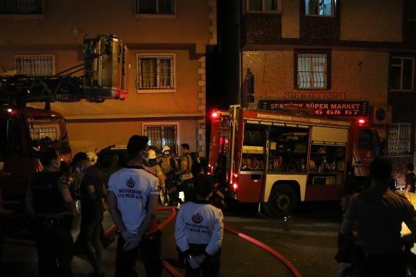 Şişli'de 8 katlı apartmanda yangın paniği - Sayfa 3