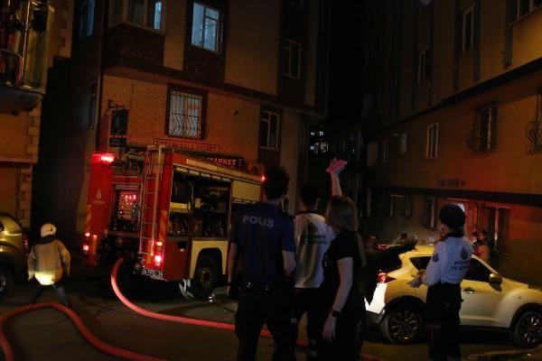 Şişli'de 8 katlı apartmanda yangın paniği - Sayfa 4