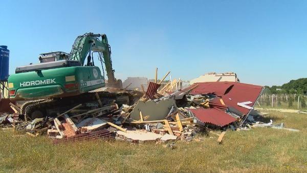Çatalca'da hazine arazilerine yapılan kaçak evler yıkıldı - Sayfa 4