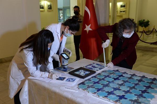 Adana Ulu Camii'nin çinileri Hollanda'dan çıktı: Etnografya Müzesi'ne getirildi - Sayfa 1