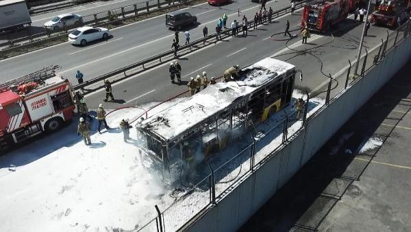 Bayrampaşa'da İETT otobüsü alev alev yandı - Sayfa 2