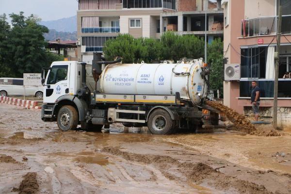 Aydın'da birçok evde su baskınları yaşandı - Sayfa 3
