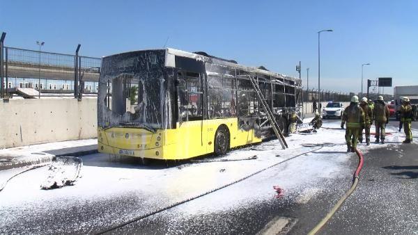 Bayrampaşa'da İETT otobüsü alev alev yandı - Sayfa 3