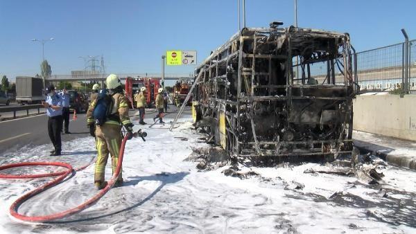 Bayrampaşa'da İETT otobüsü alev alev yandı - Sayfa 4