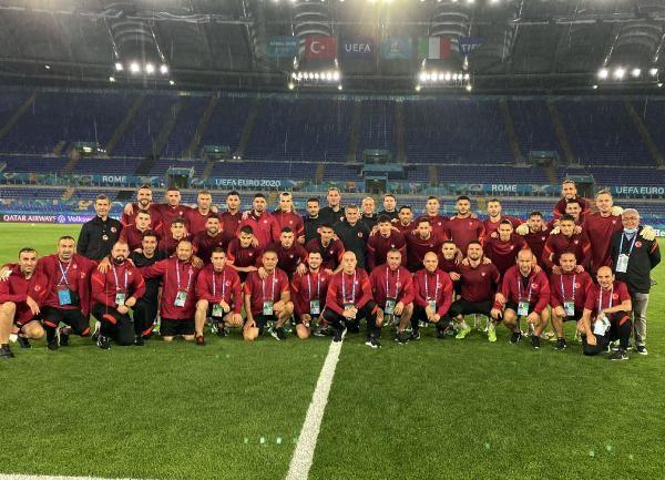 A Milli Takım, İtalya maçına hazır - Sayfa 1