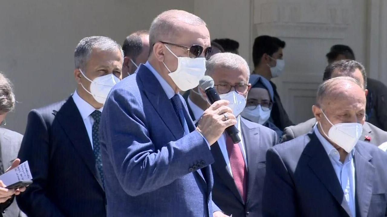 """Erdoğan'dan """"kentsel dönüşüm"""" itirazı olan vatandaşa: Eğer sözler tutulmazsa belediye önüne gidin eylem yapın, ben de size katılacağım"""