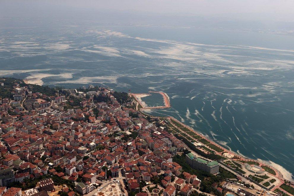 Müsilaj havadan görüntülendi: Deniz salyası her yerde - Sayfa 3