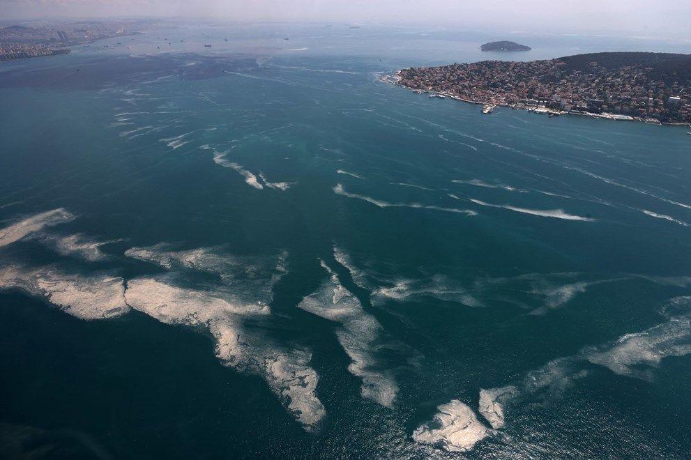 Müsilaj havadan görüntülendi: Deniz salyası her yerde - Sayfa 4