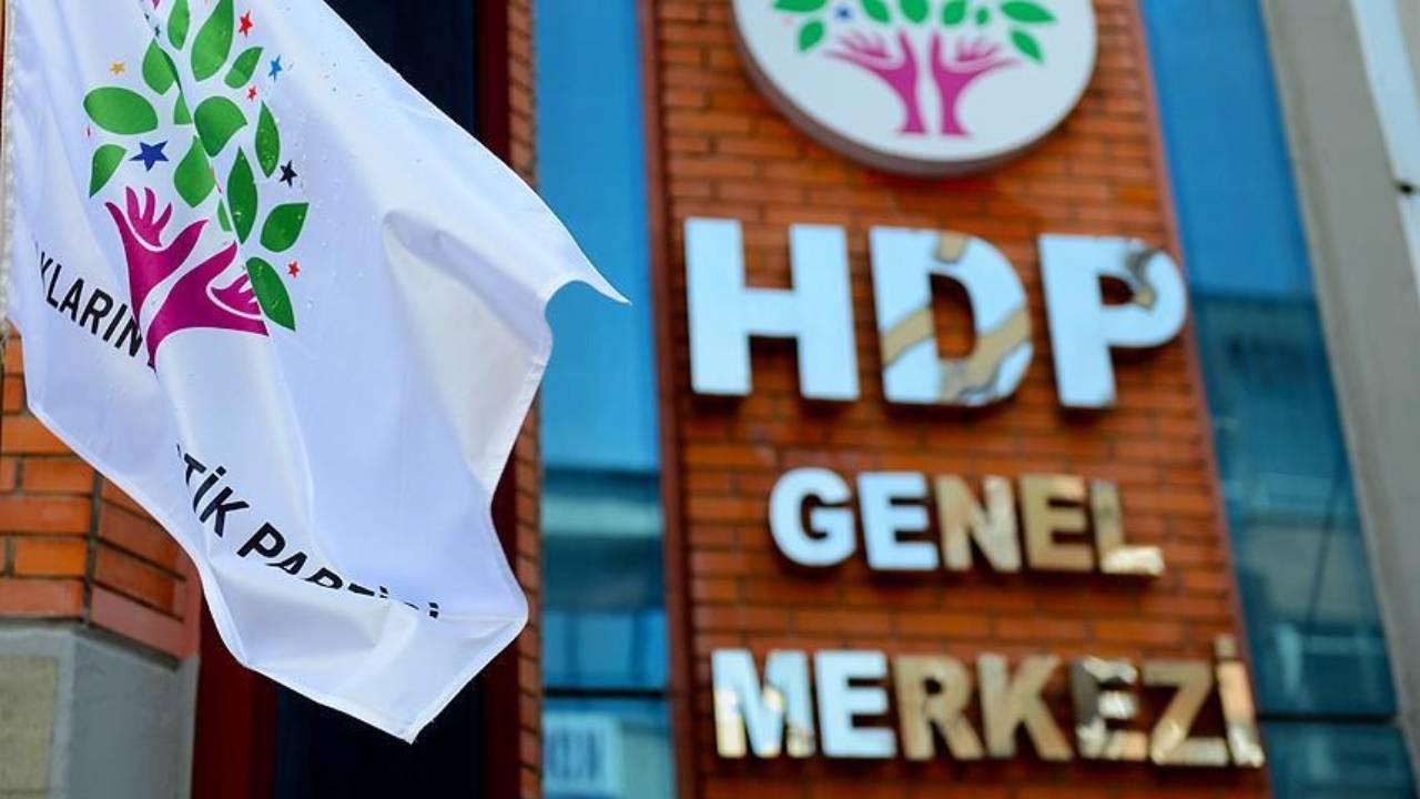 HDP'ye kapatma davasından flaş gelişme