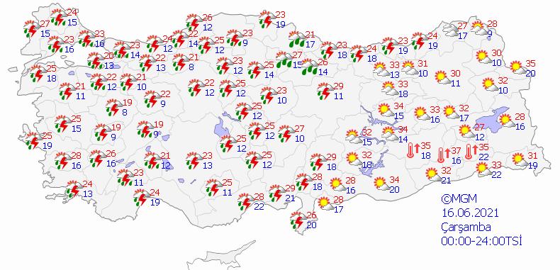 Meteoroloji'den 5 bölge için sağanak yağmur uyarısı - Sayfa 4