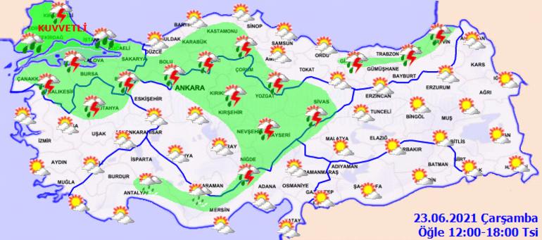 İstanbul'a kuvvetli sağanak geliyor: Saat belli oldu! - Sayfa 2
