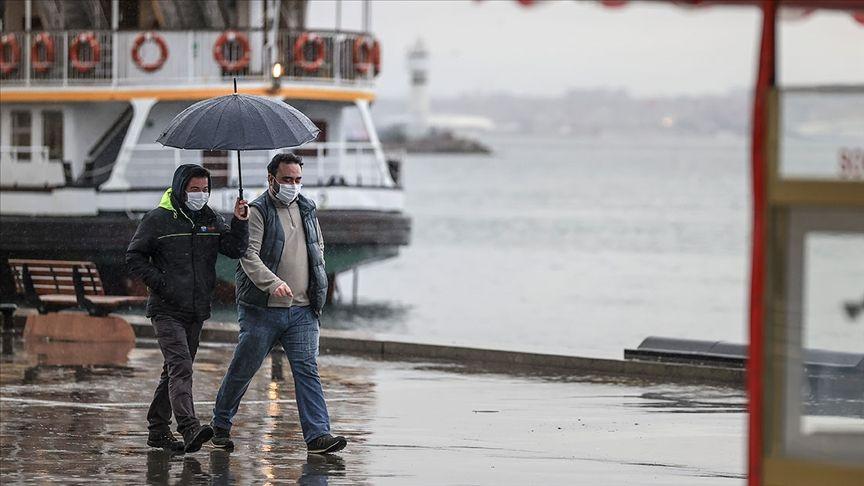 İstanbul'a kuvvetli sağanak geliyor: Saat belli oldu! - Sayfa 1