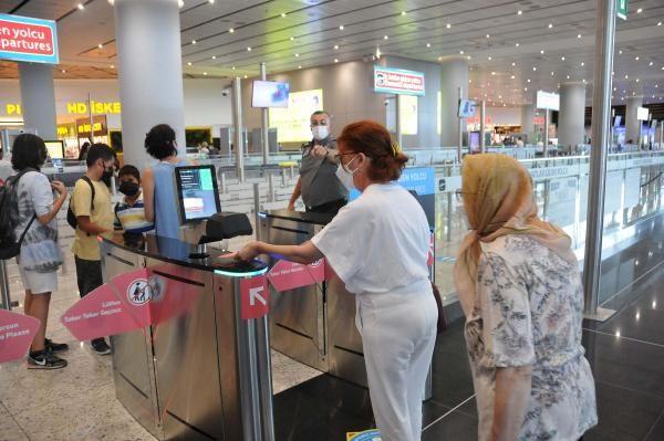 İstanbul Havalimanı'nda bayram tatili yoğunluğu erken başladı - Sayfa 2