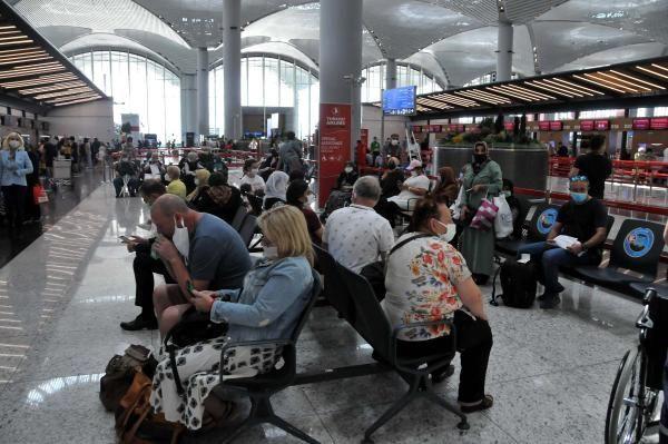 İstanbul Havalimanı'nda bayram tatili yoğunluğu erken başladı - Sayfa 3