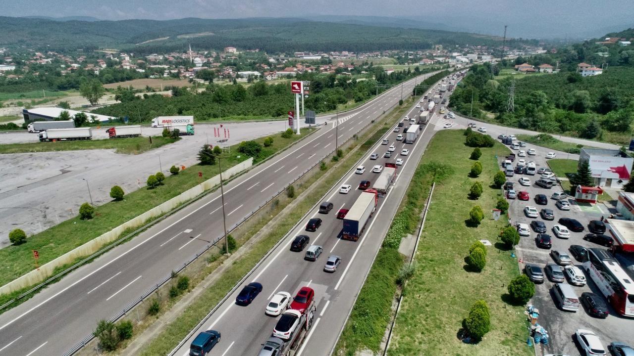 Anadolu Otoyolu'nda Kurban Bayramı yoğunluğu - Sayfa 1