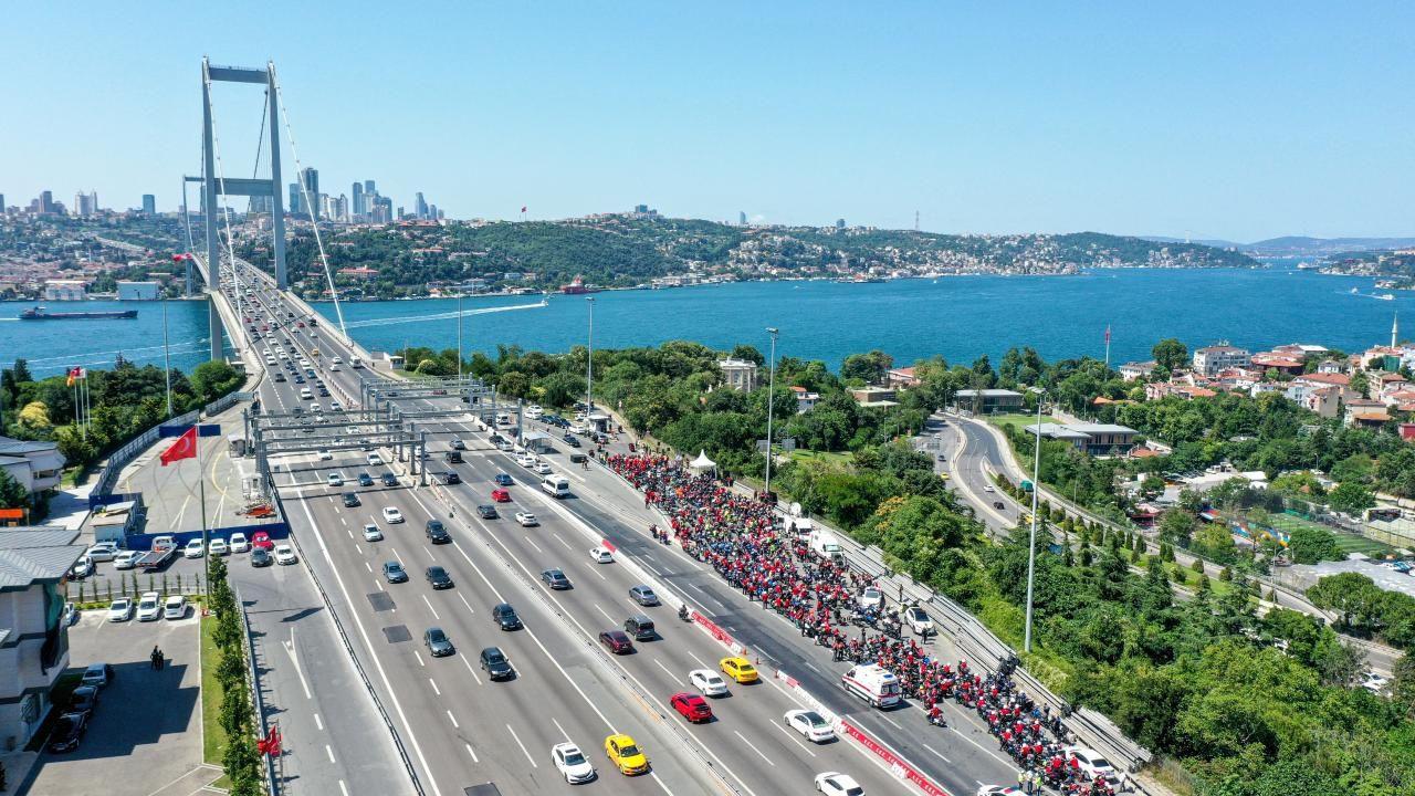 İstanbul'da motosikletçiler 15 Temmuz şehitleri için konvoy oluşturdu - Sayfa 4
