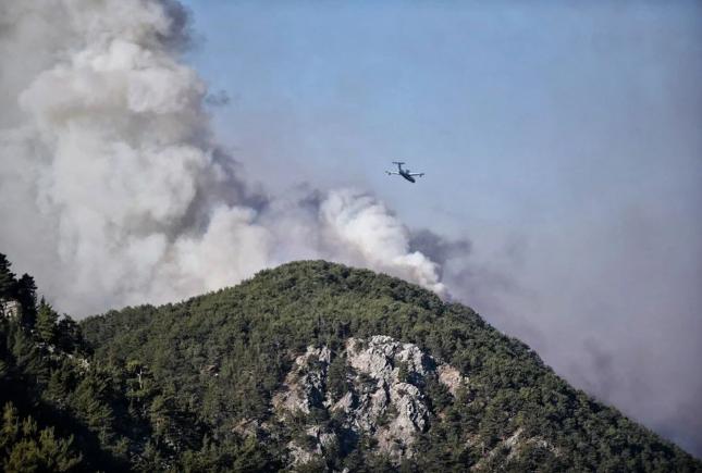 Hatay ve Mersin'de orman yangını - Sayfa 1