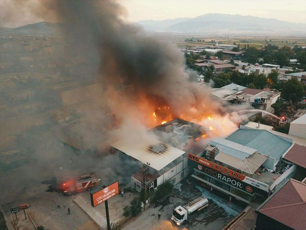 Kahramanmaraş'taki fabrika yangını 5 tesise sıçradı - Sayfa 2