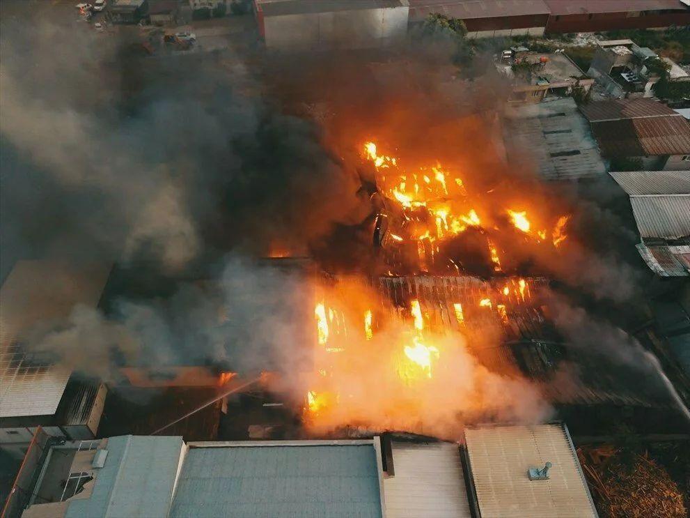 Kahramanmaraş'taki fabrika yangını 5 tesise sıçradı - Sayfa 3