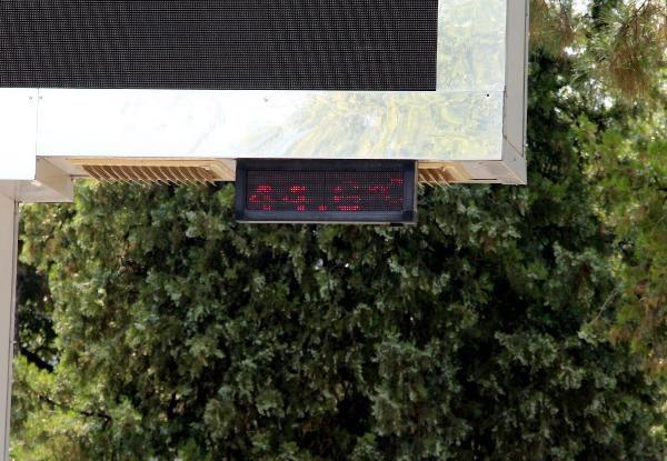 Tokat'ta termometreler 44 dereceyi gösterdi - Sayfa 1