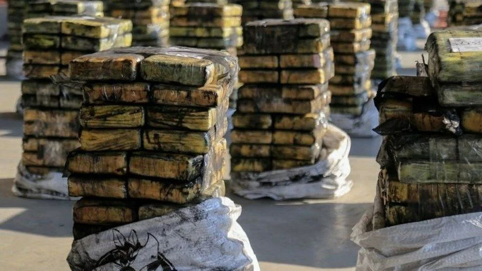 Kömür süsü verilen 41,4 milyon dolarlık uyuşturucu ele geçirildi - Sayfa 1