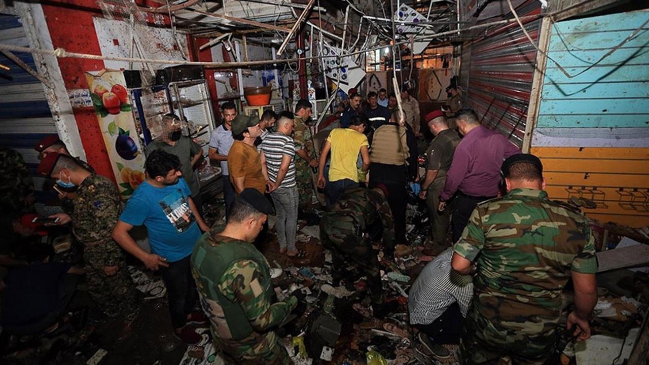 Bağdat'da bayram öncesi kanlı saldırı! Çok sayıda ölü ve yaralı var