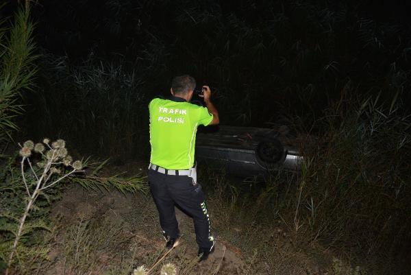Otomobil, drenaj kanalına devrildi: 4 yaralı - Sayfa 3