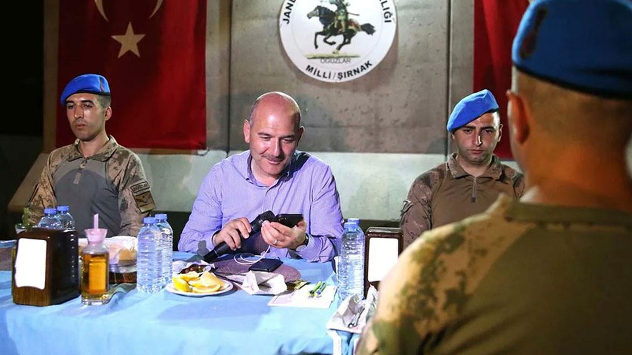 İçişleri Bakanı Soylu Şırnak'ta askerleri ziyaret etti
