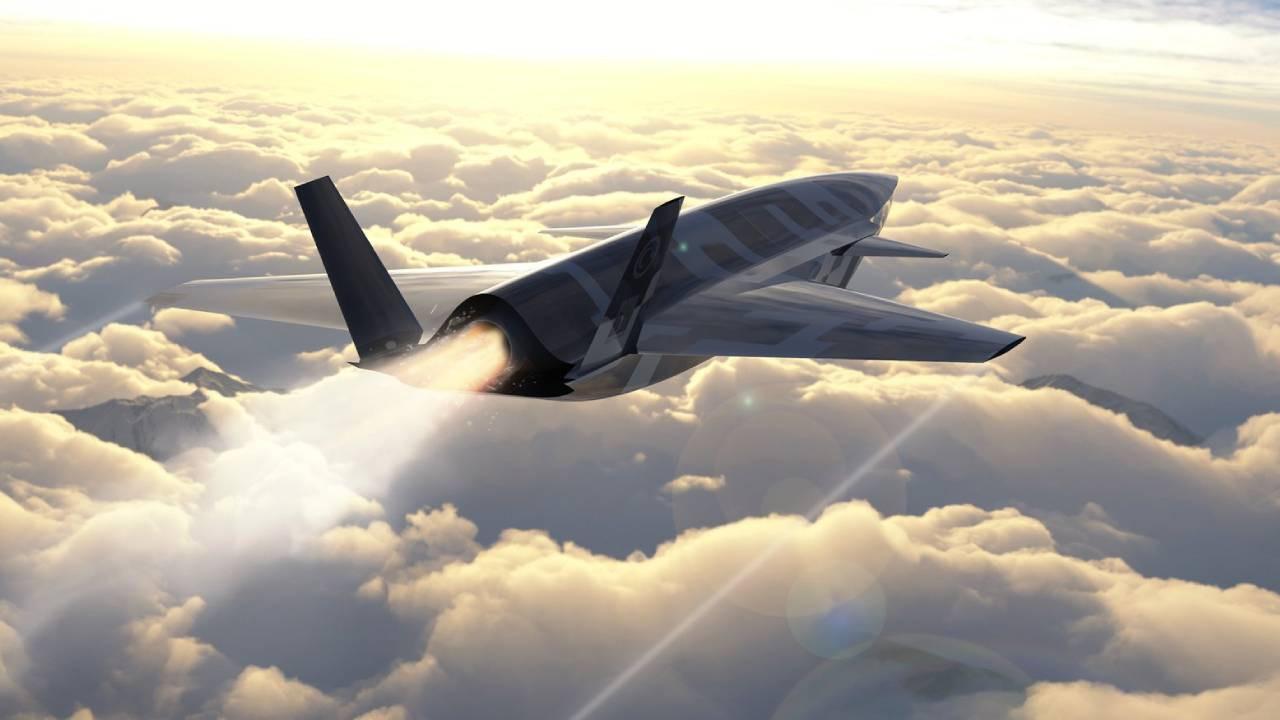 Baykar'dan insansız savaş uçağına ilişkin görsel paylaşımı
