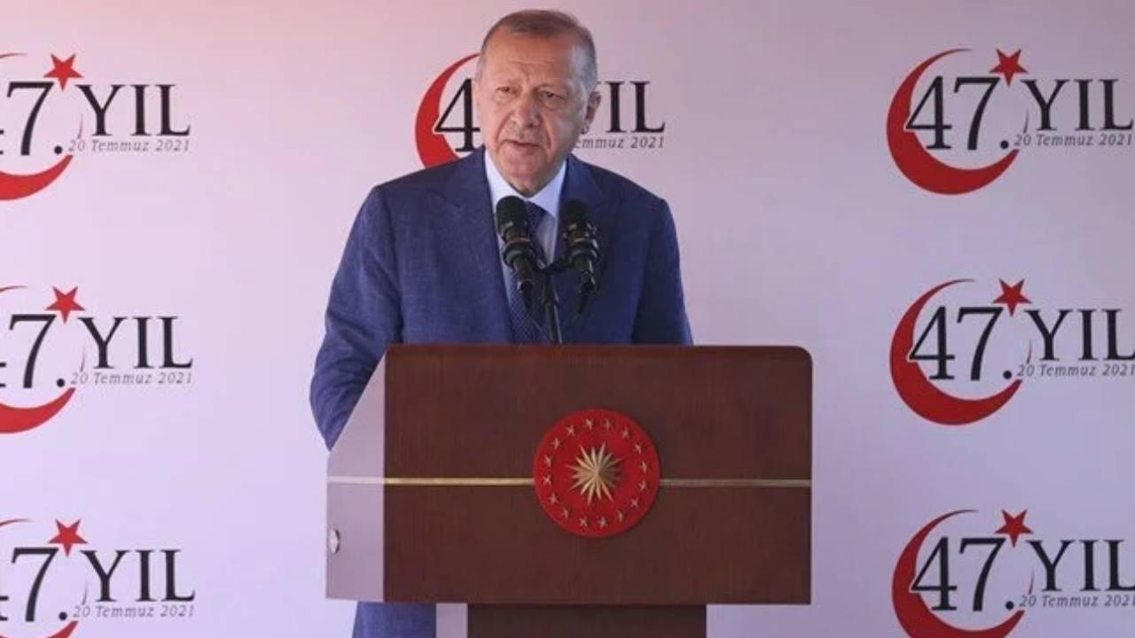 Cumhurbaşkanı Erdoğan: Bizden kimse bundan sonra geriye dönüş beklemesin
