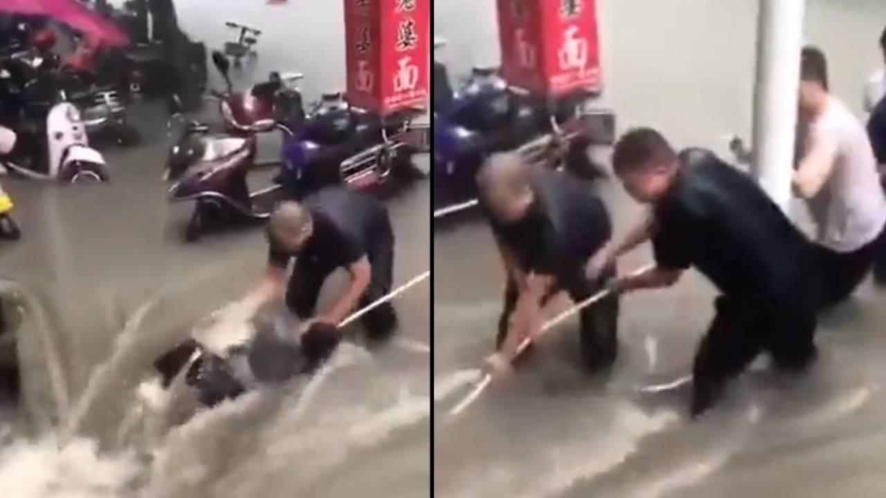 Çin'de sel 10 binden fazla kişinin sığınaklara taşınmasına sebep oldu