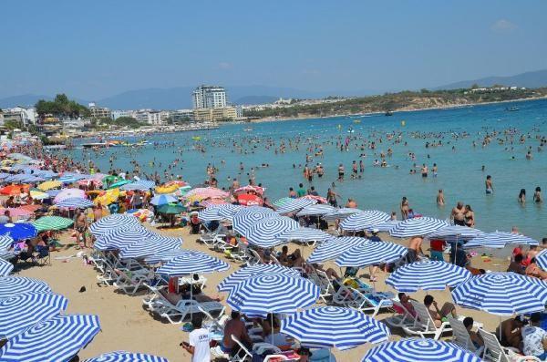 Didim'de plajlar ve havuz başları doldu - Sayfa 1