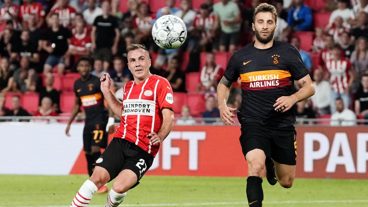 Maç sonucu: PSV Eindhoven 5-1 Galatasaray