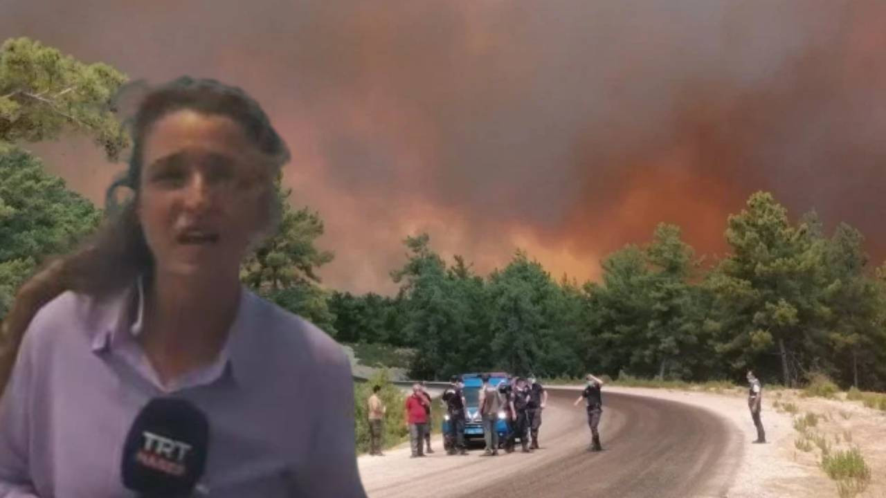 Antalya'da orman yangını: 4 mahalle boşaltıldı
