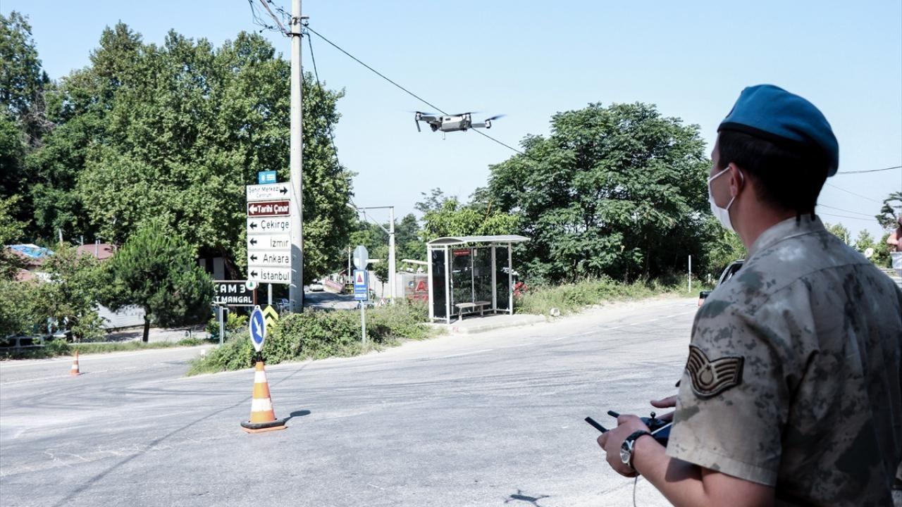 Ormanlar havadan ve karadan mercek altında Jandarma ormanları drone ve helikopter ile denetliyor - Sayfa 2