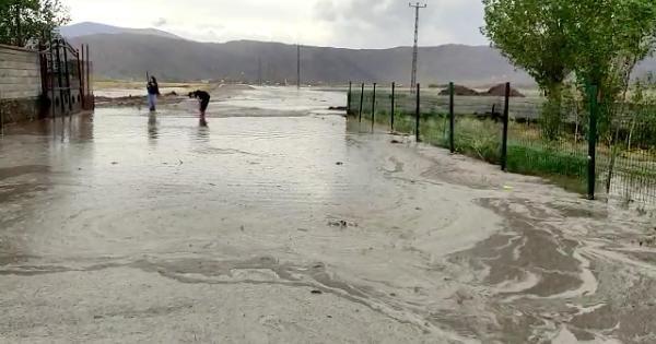 Ağrı Doğubayazıt'ta sel; Evler ve tarım arazileri su altında kaldı - Sayfa 1