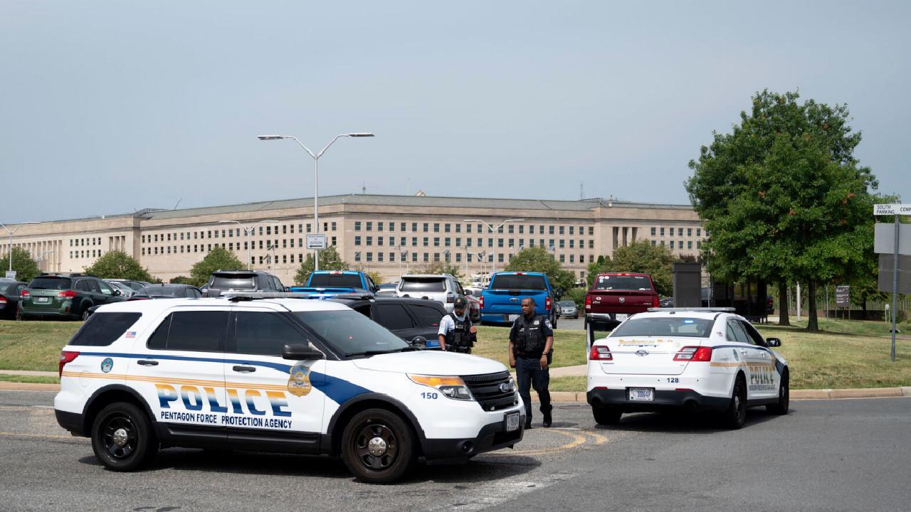 Pentagon yakınında silah sesleri; Giriş ve çıkışlar kapatıldı
