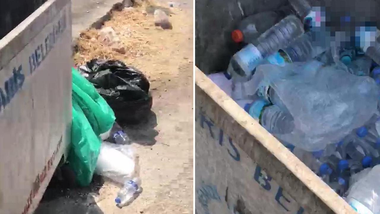 Marmaris'te yangınla mücadele eden görevlilerin içme suyunu çöpe atan 3 kişiye gözaltı