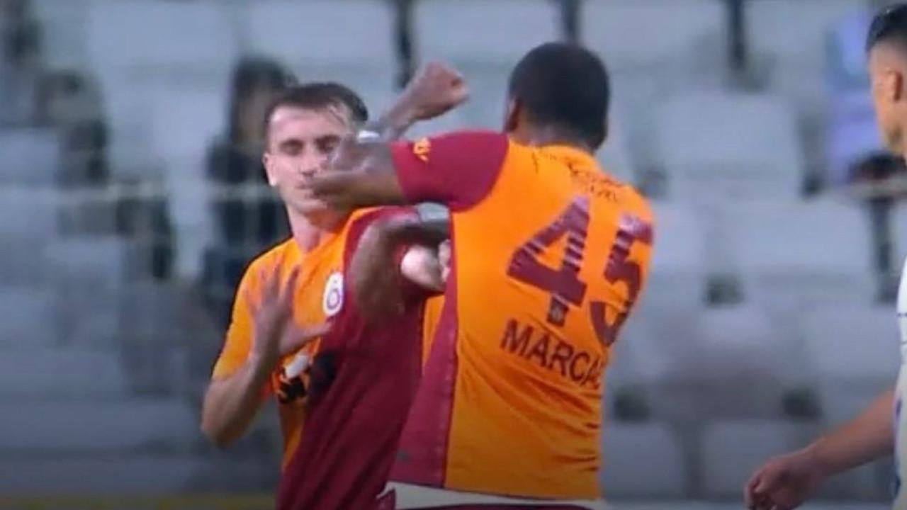 Galatasaray'da büyük skandal; Takım arkadaşına kafa atıp yumrukladı