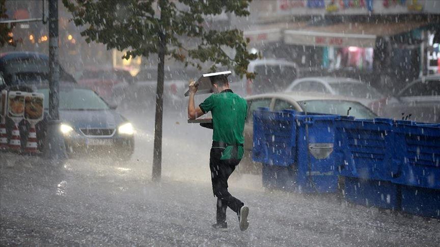Meteoroloji'den şiddetli sağanak yağış uyarısı - Sayfa 3