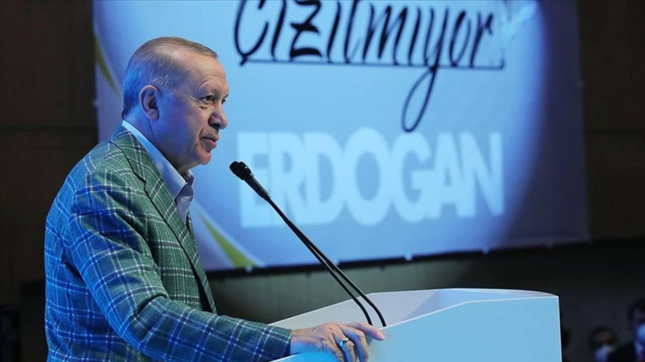 Cumhurbaşkanı Erdoğan: Meral Hanım sen kimi kime benzetiyorsun?