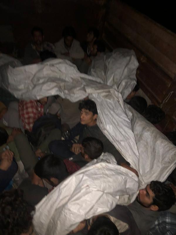 Van'da 57 kaçak göçmen yakalandı; 3 organizatör gözaltında - Sayfa 1