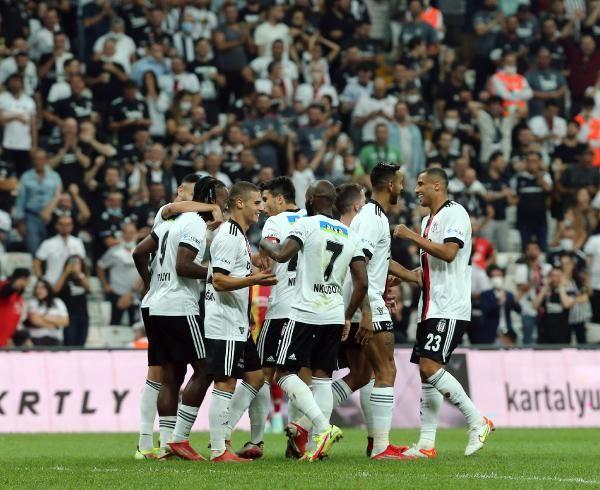 Beşiktaş, Yeni Malatyaspor'u 3 golle yendi - Sayfa 1