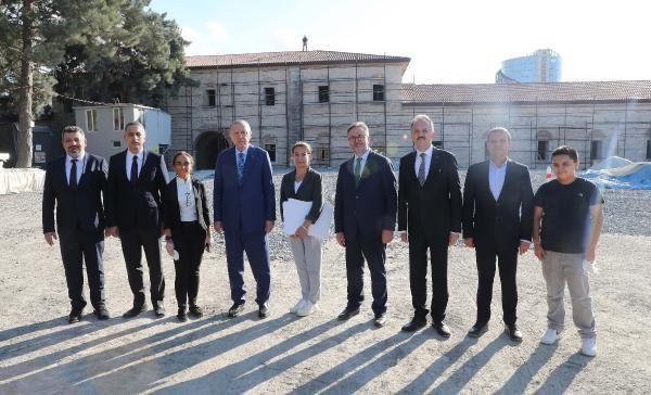 Cumhurbaşkanı Erdoğan Rami Kışlası'nı ziyaret etti - Sayfa 1