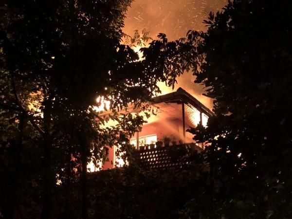 Zonguldak'ta aynı mahallede bir haftada ikinci yangın; 1 gözaltı - Sayfa 1